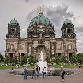 Berlin Cathedral by Ciddi Biri - Buildings & Architecture Public & Historical ( m43, almanya, olympus pen, m43turkiye, cathedral, germany, berlin, e-pl3 )