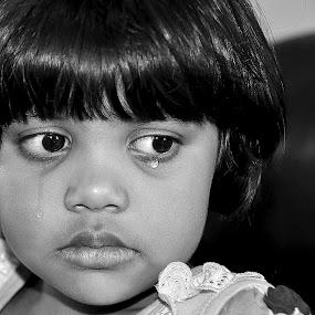 Raw expression  by Papri Mazumdar - Babies & Children Child Portraits ( people, portrait, emotion, human )