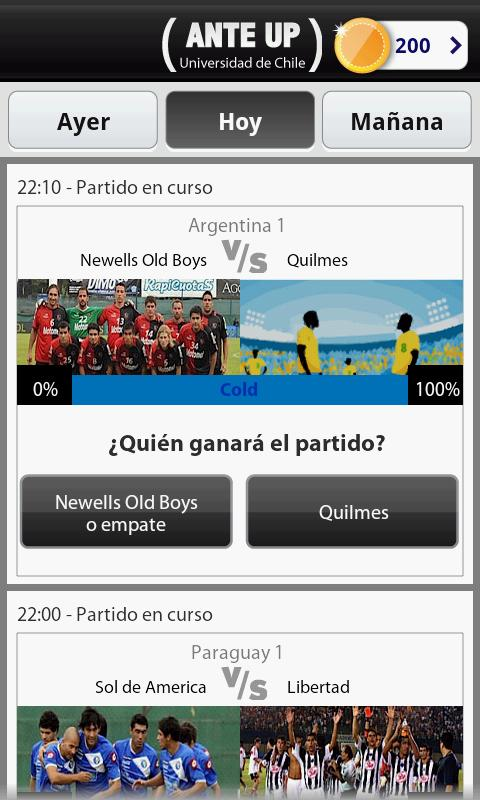Universidad de Chile - Ante Up- screenshot