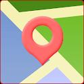 在中国的地图 icon