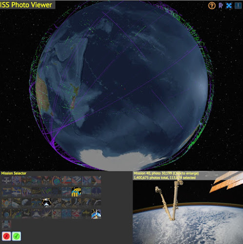 ISS Photo Viewer by Callum Prentice - Chrome Experiments
