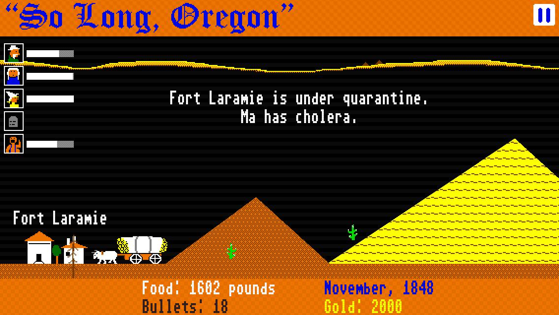 So Long, Oregon! screenshot #2