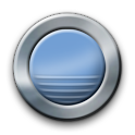 Metal Buttons:Blue ADW Theme icon