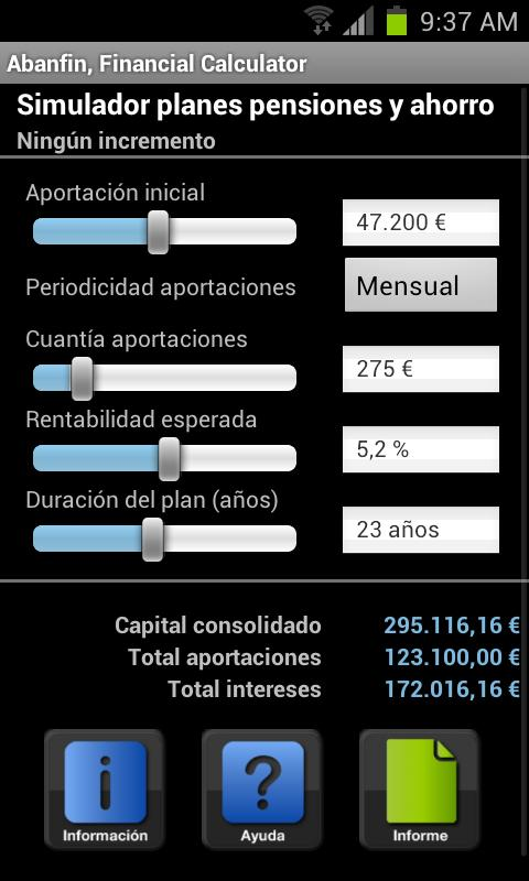Abanfin F. Calculator full- screenshot