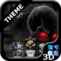 Next Launcher Skull Theme icon