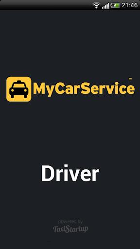 MyCarService Driver