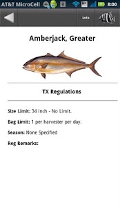 Gulf state fishing regulations android apps on google play for Texas fishing laws