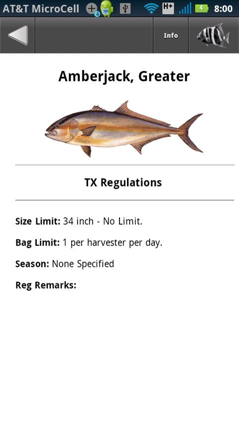 Gulf state fishing regulations android apps on google play for Florida fishing regs