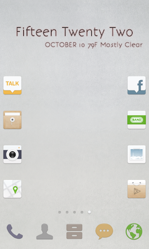 玩免費個人化APP|下載ニュートラルホワイト ドドルランチャーテーマ app不用錢|硬是要APP
