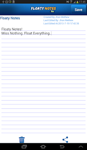 Floaty Notes Pro: Share Notes- screenshot thumbnail