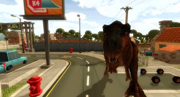 Screenshot of Dinosaur Simulator 3D