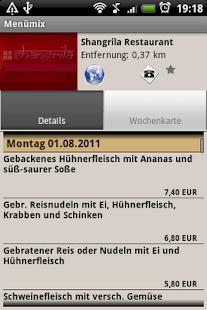 Menümix - Mein Mittagstisch- screenshot thumbnail