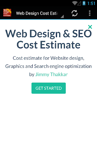 Web Design Cost Estimate
