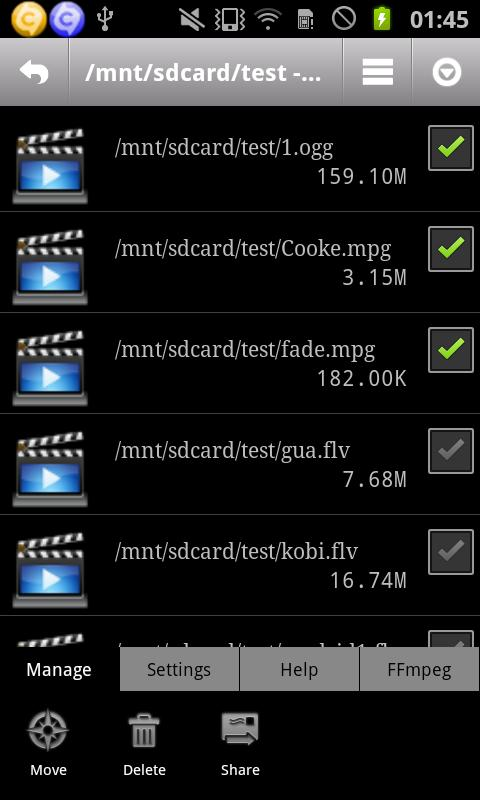 ARM Codec Default Vidcon- screenshot