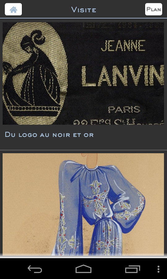 Exposition Jeanne Lanvin- screenshot