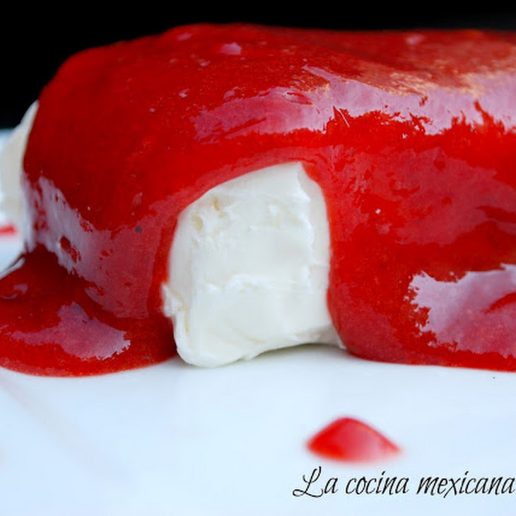 Cream Cheese with Strawberry Chipotle Sauce