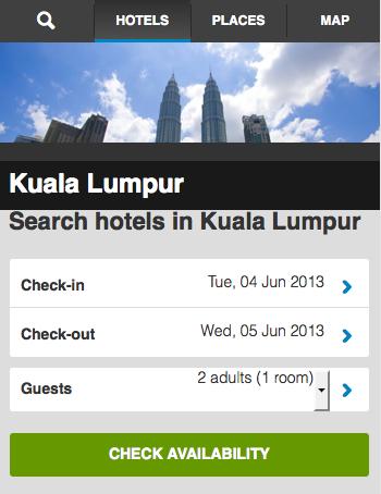 Kuala Lumpur Hotels Booking