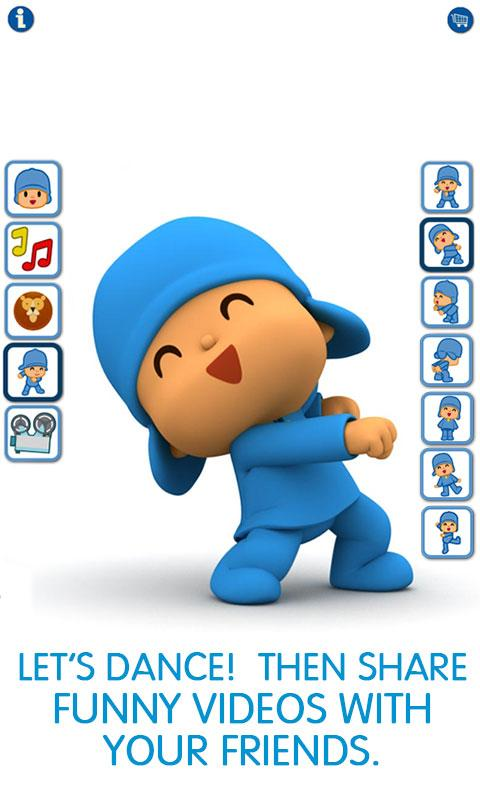 Talking Pocoyo Premium- screenshot