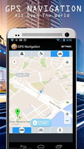 GPS導航2015年和地圖