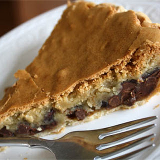 Chocolate Chip Cookie Pie.