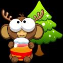 Bubble Monkey Xmas icon