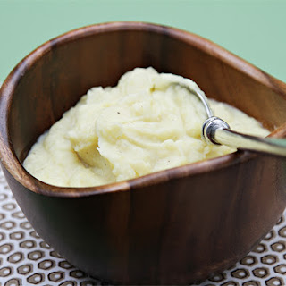 Mashed Potatoes With Garlic Confit