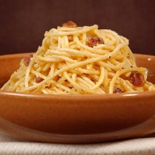 Sfoglia's Spaghetti Carbonara.