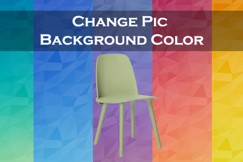 Change Pic Background Color