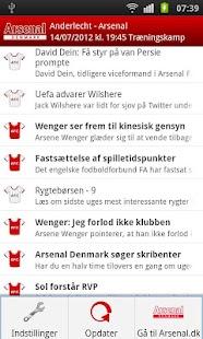 Arsenal Denmark- screenshot thumbnail