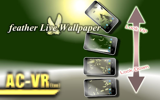 AC-VR feather Live Wallpaper