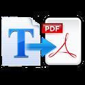 Text to PDF Converter Pro