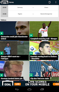 Goal.com - screenshot thumbnail