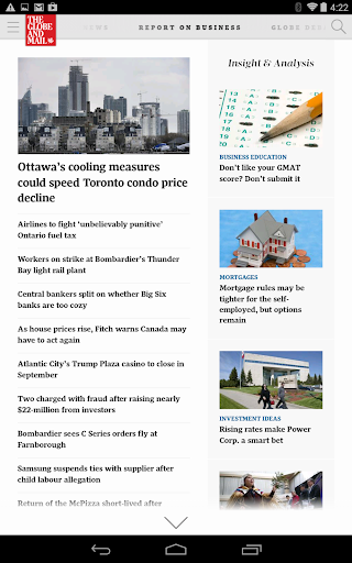 The Globe and Mail Android Ed.