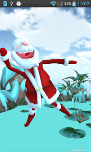 Talking Dancing Santa Claus 3D - screenshot thumbnail
