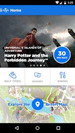 Universal Orlando® Resort App Screenshot 1