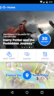 Universal Orlando® Resort App Screenshot 1