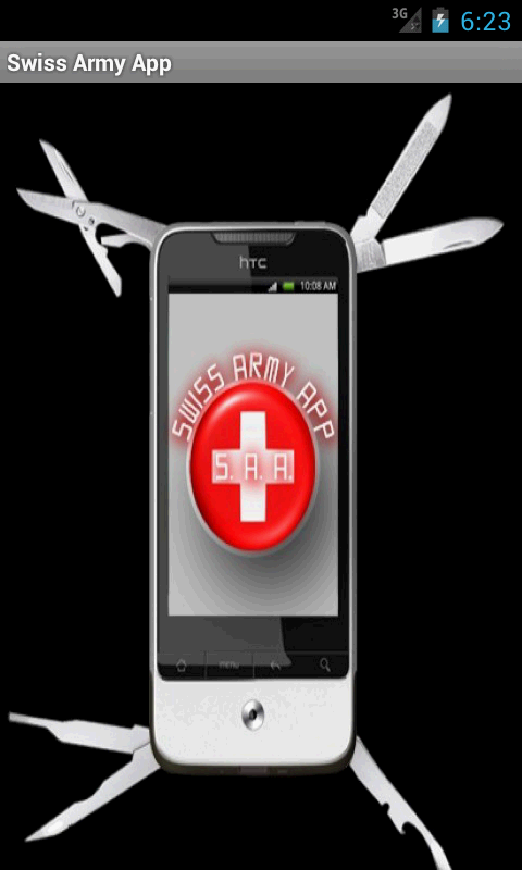 Swiss Army App- screenshot