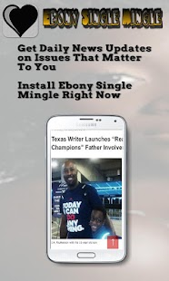 Ebony Single Mingle- screenshot thumbnail