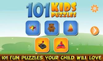 Screenshot of 101 Kids Puzzles