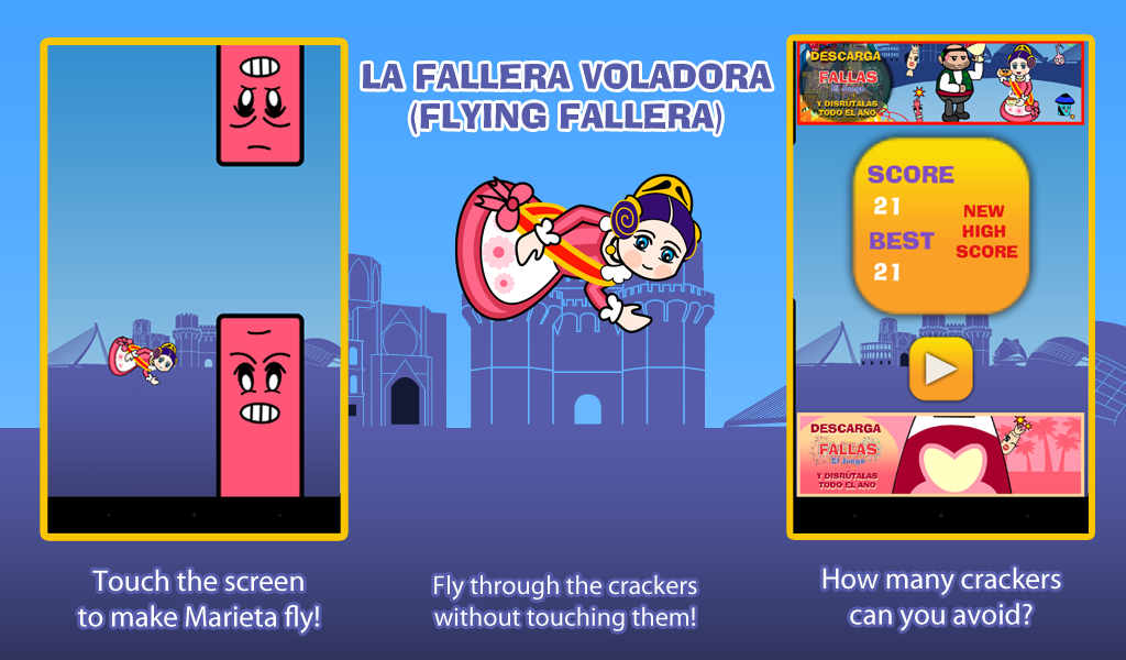 Flying Fallera- screenshot