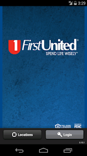 First United Android App - screenshot thumbnail