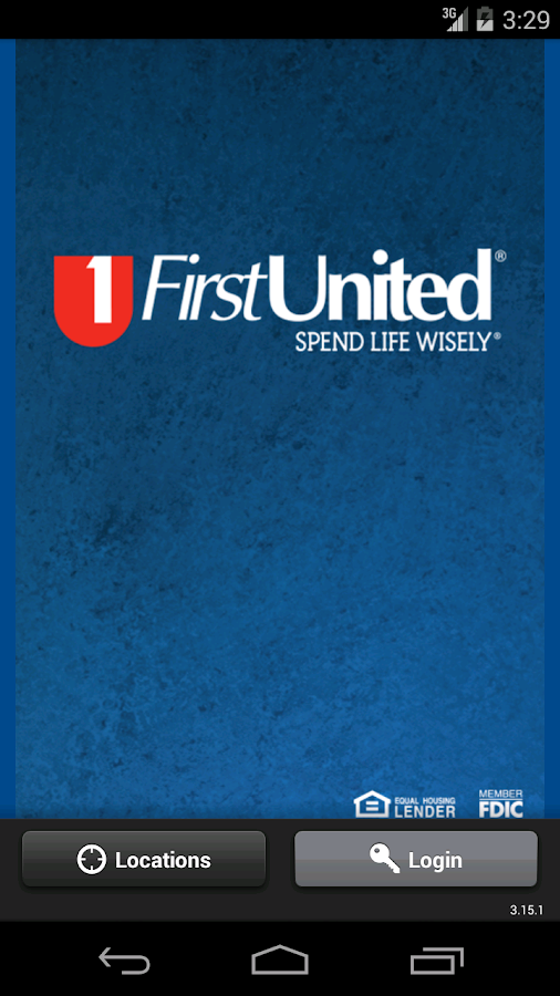 First United Android App- screenshot