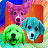 Puppy Puzzle Jewels Game