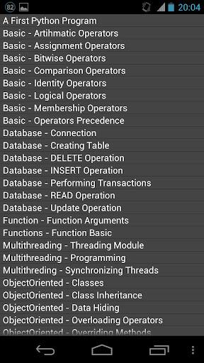 Python程序 指南