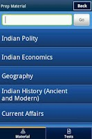 Screenshot of CSAT UPSC Prep