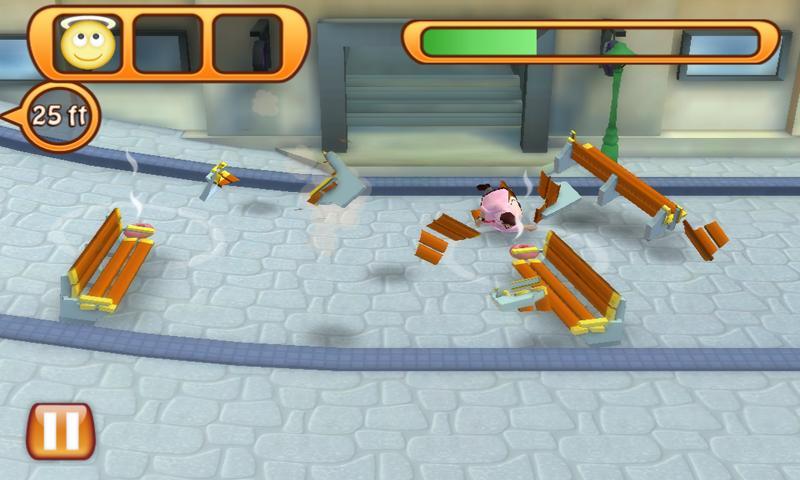 Run Fatty Run - screenshot