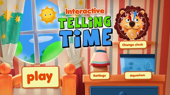 Interactive Telling Time Free- screenshot thumbnail