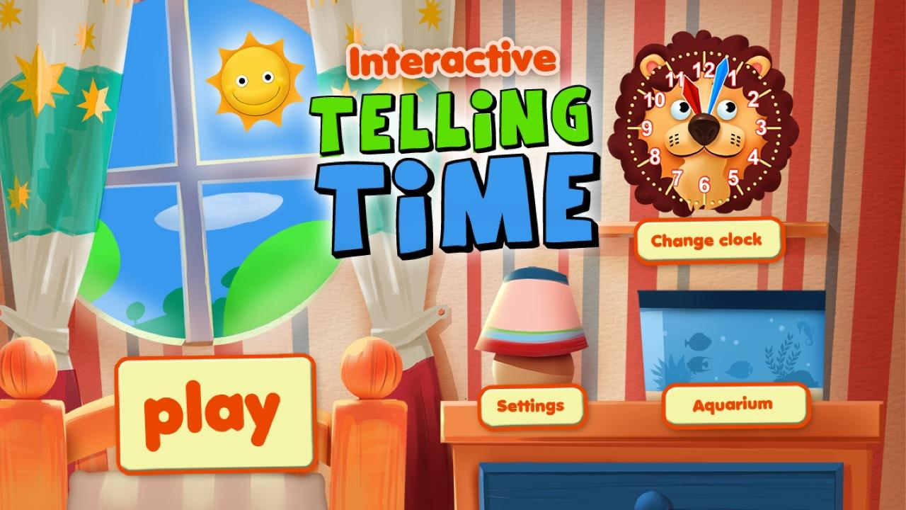 Interactive Telling Time Free- screenshot