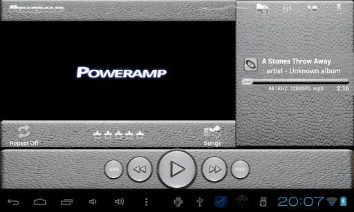 玩生活App|Poweramp 白い肌トカゲ免費|APP試玩