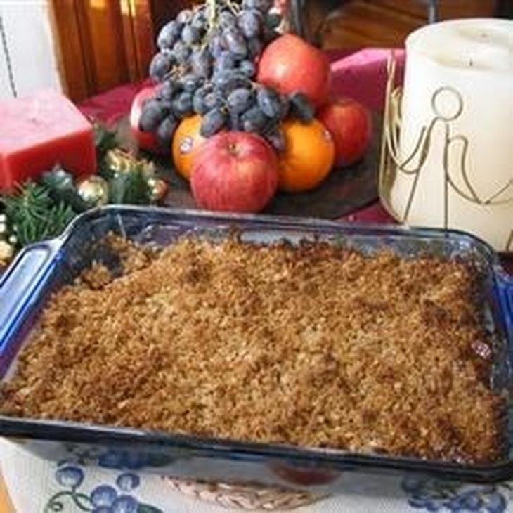 Apple Crisp III Recipe
